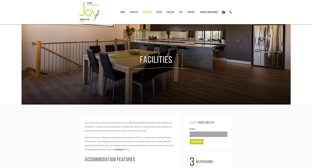 Joy Riverside Rental