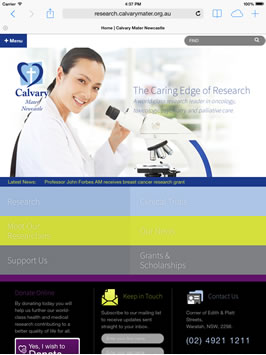 Calvary Mater Research